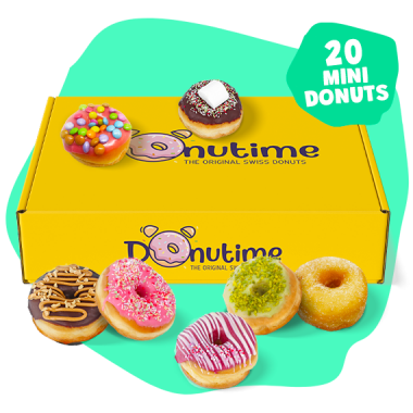 Box Mini Donuts Donutime