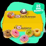 Box Mini Donuts Donutime