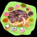 Giant Donut Donutime