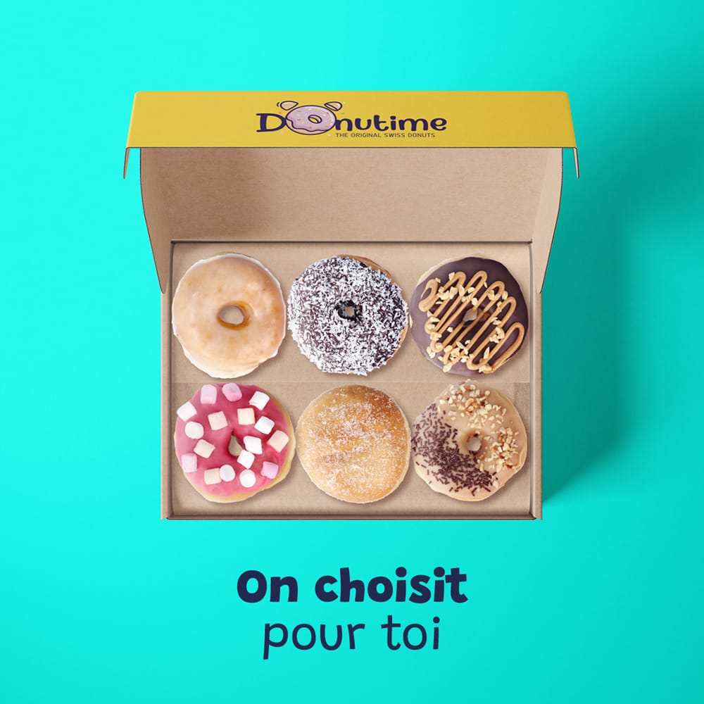 Les Box Mix Donutime